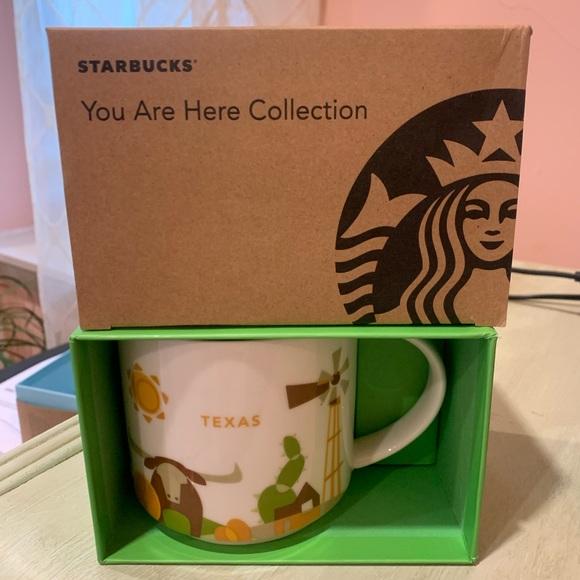 Starbucks Texas You Are Here Series Mug ☕️